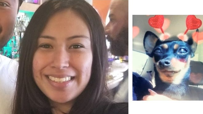 Diana Rosas went for a walk in Ventura with her dog Coco and hasn't been seen since.