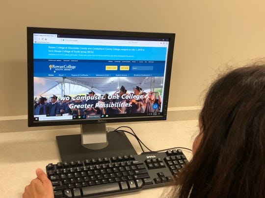 Students and staff of the former Cumberland County College found the website updated on Monday to reflect the institution's evolving into Rowan College of South Jersey.