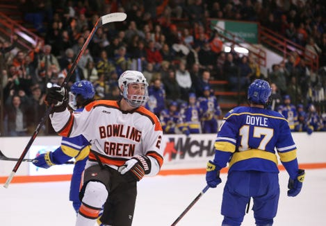 Will Cullen had four goals and 10 assists in 31 games this past season for Bowling Green, earning an invite to last week's New York Islanders developmental camp.