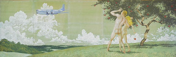 Delaware Air National Guard considered covering buttocks in 50-year-old Jamie Wyeth mural