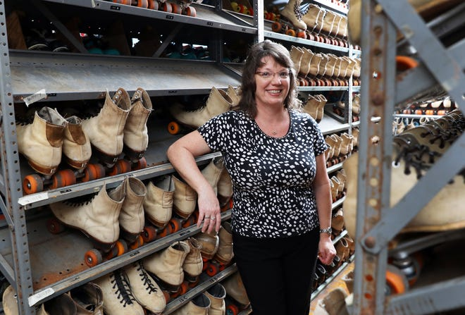 Lynn Burrell and her husband Robert purchased Lind Arena in 1999. She has been skating at the Zanesville roller skating rink since she was a child.