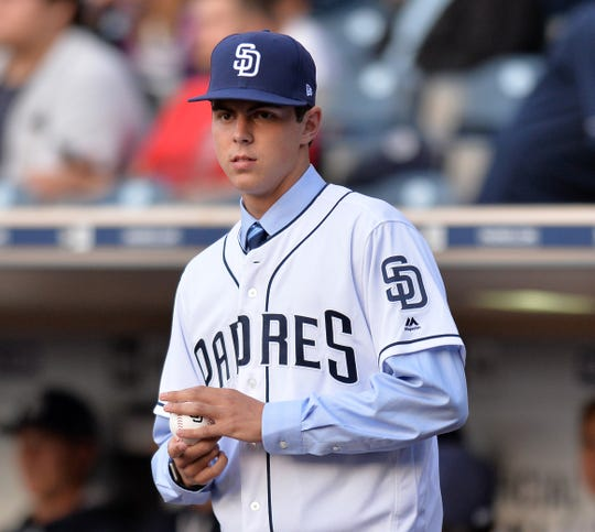 The Padres took MacKenzie Gore third overall in 2017.