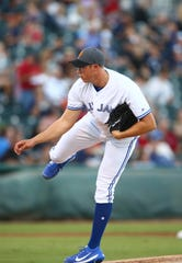 Nate Pearson during the 2018 Arizona Fall League All-Star Game.