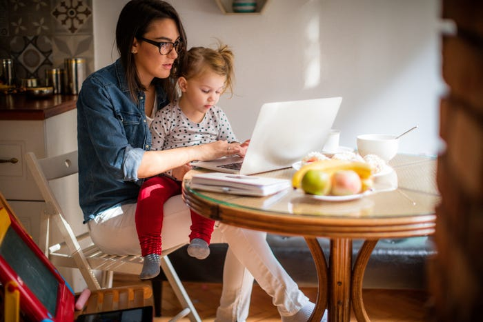 Women take on a greater share of parenting responsibilities under stay-at-home orders