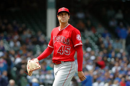 Tyler Skaggs made 96 career starts in his major-league career.