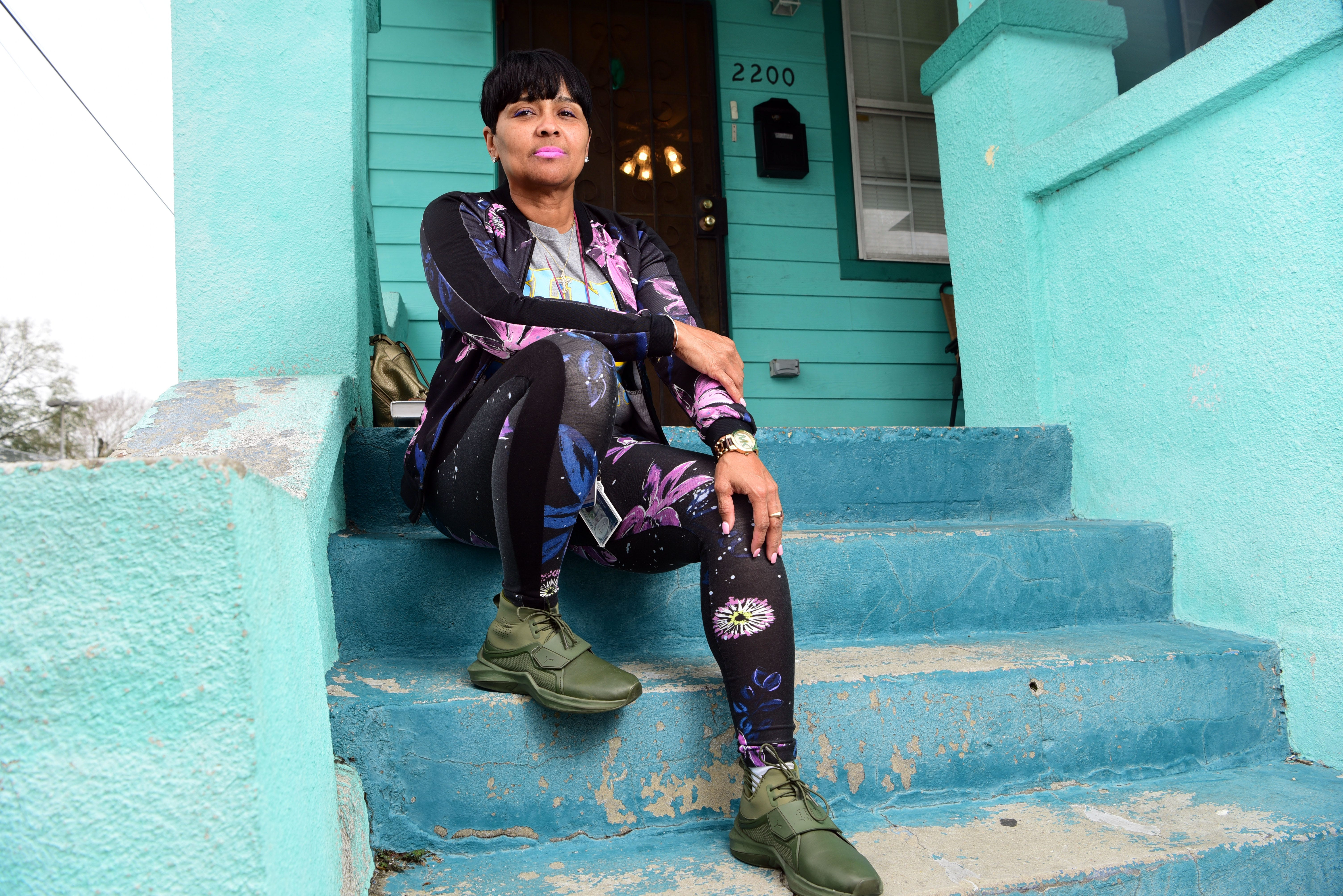 """Danielle Metz says she's """"living my best life"""" in New Orleans. During the spring semester, she was living in the childhood home she inherited from her parents, taking online classes and working as a """"violence interrupter"""" at local hospitals when a young person is shot."""