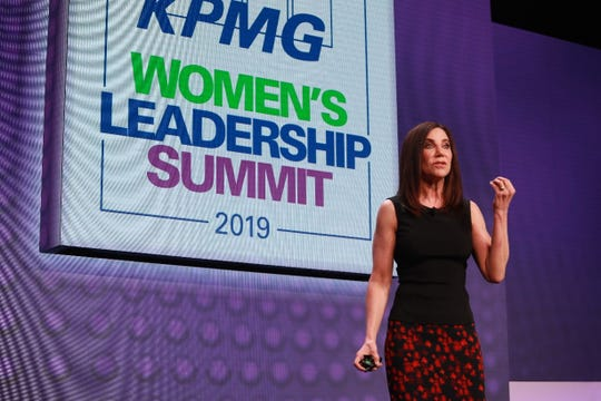 Alison Levine, History-making adventurer and New York Times best-selling author, shares her story at this year's summit.