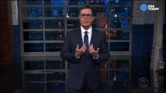 Stephen Colbert bashes Ken Cuccinelli for Statue of Liberty poem 'update'
