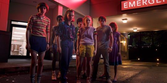 """The """"Stranger Things"""" stars have aged a bit faster than their TV characters. """"We make the show as fast as we can, but we aren't willing to rush it at the expense of quality,"""" says producer Shawn Levy. """"This means that we accept and embrace the growing up of our young actors and decided early on to reflect their evolution rather than pretend it isn't happening."""""""
