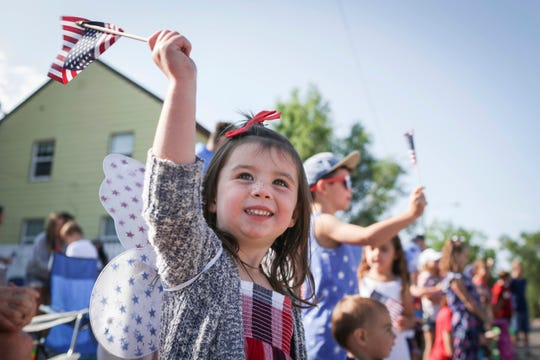 Fourth of July parade in Idaho Falls, Idaho.