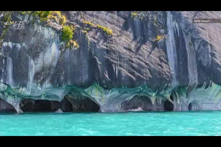 These enchanting, 6,000-year-old marble caves are only accessible by boat