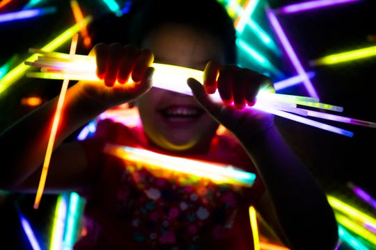 Kids love glow sticks, and they are inexpensive.