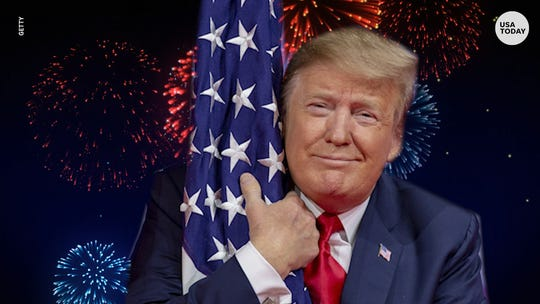 'Show the world who we are': Trump's 4th of July military show has visitors pumped, but critics slam it as an ego trip