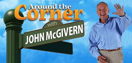 """Around the Corner with John McGivern"" visited Menasha in July."