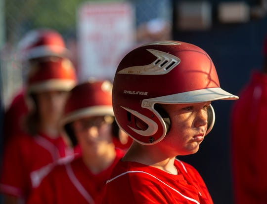 Holbrook plays Brick in a District 18 Little League game in Brick on July 2, 2019
