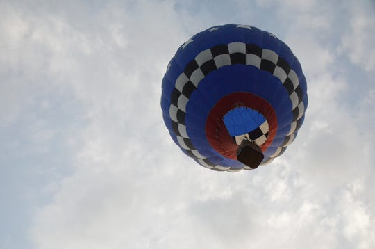 Texas Pilot Joe Heartsill flies Wednesday morning.