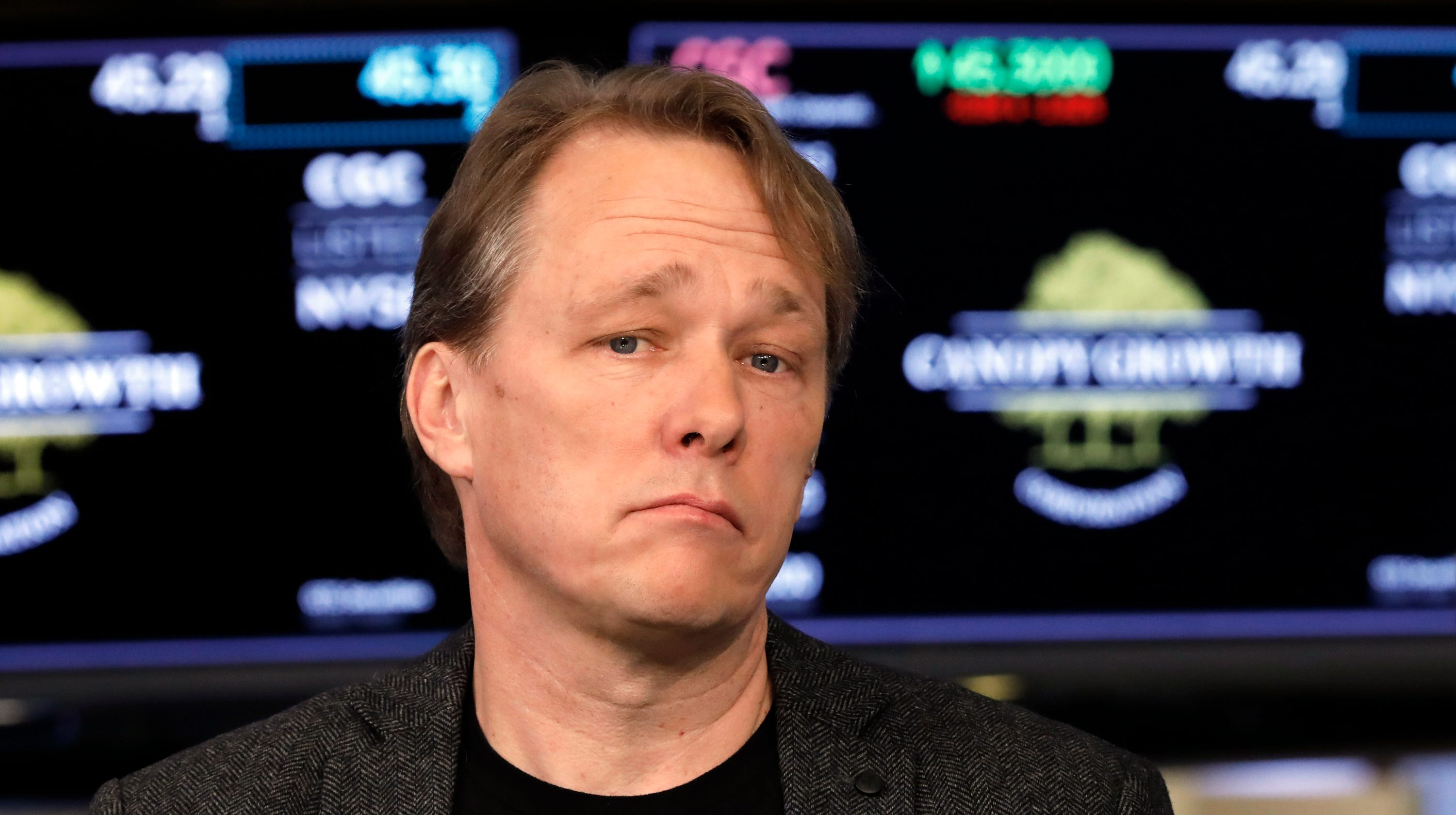 Canopy Growth CEO Bruce Linton told to leave post