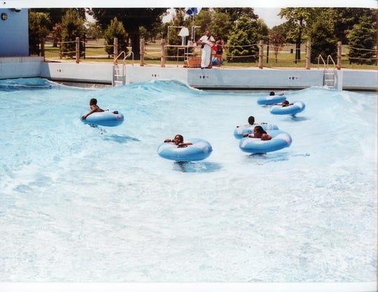 Wayne County Family Aquatic Center in Detroit.
