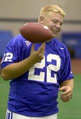 Jared Lorenzen at Kentucky in 2000