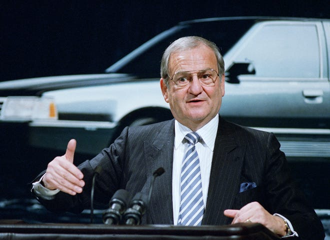 Lee Iacocca, who died Wednesday at age 94, was Detroit's last Supreme Automotive Leader.