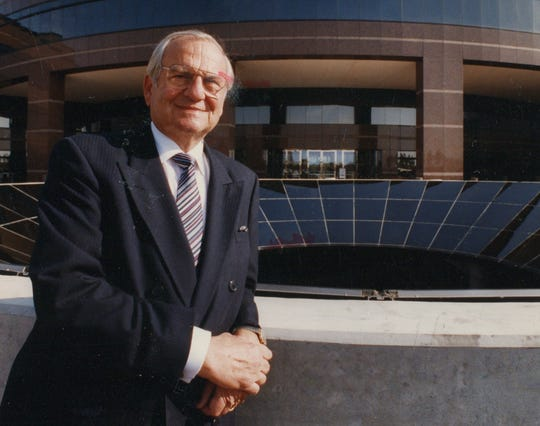 Lee Iacocca, the automotive industry icon who helped launch the Ford Mustang and rescued Chrysler after its first bankruptcy, died Tuesday.