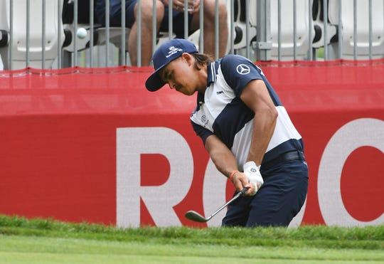 Rickie Fowler is already on board for Year 2 of the Rocket Mortgage Classic.