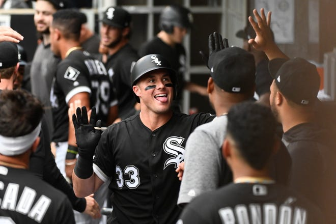Chicago White Sox catcher James McCann, a former Tiger, entered Wednesday's doubleheader against his former team hitting .319 with nine home runs, 28 RBIs and a 137 OPS-plus.