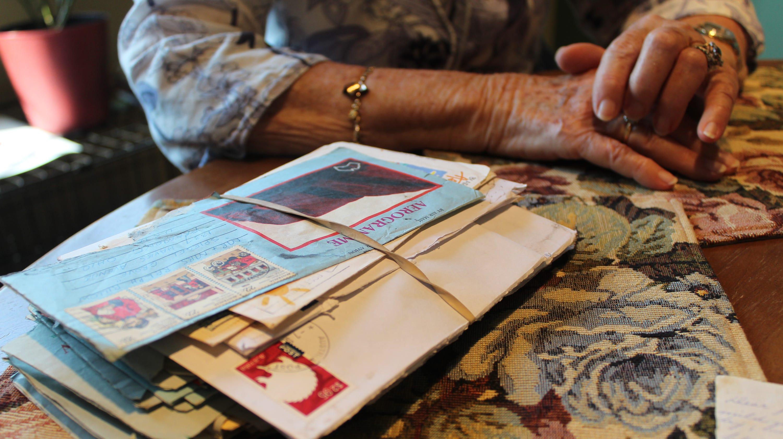 Fremont, Australian pen pals of 73 years meet again
