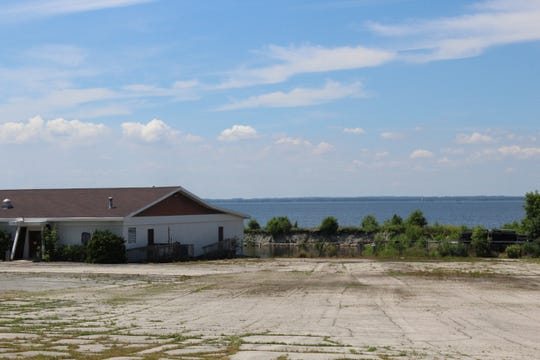 Brown County is considering buying the former Eagle's Nest, 3261 Nicolet Drive in Green Bay, to develop a new boat launch on the bay of Green Bay. The small protected harbor is visible behind the building.