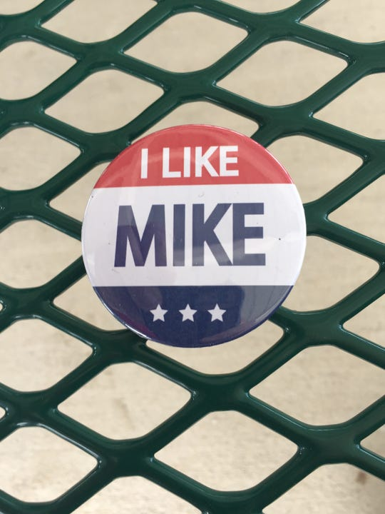 'We like Mike' buttons and signs were on display Wednesday for Mike Cooney's gubernatorial campaign kickoff.