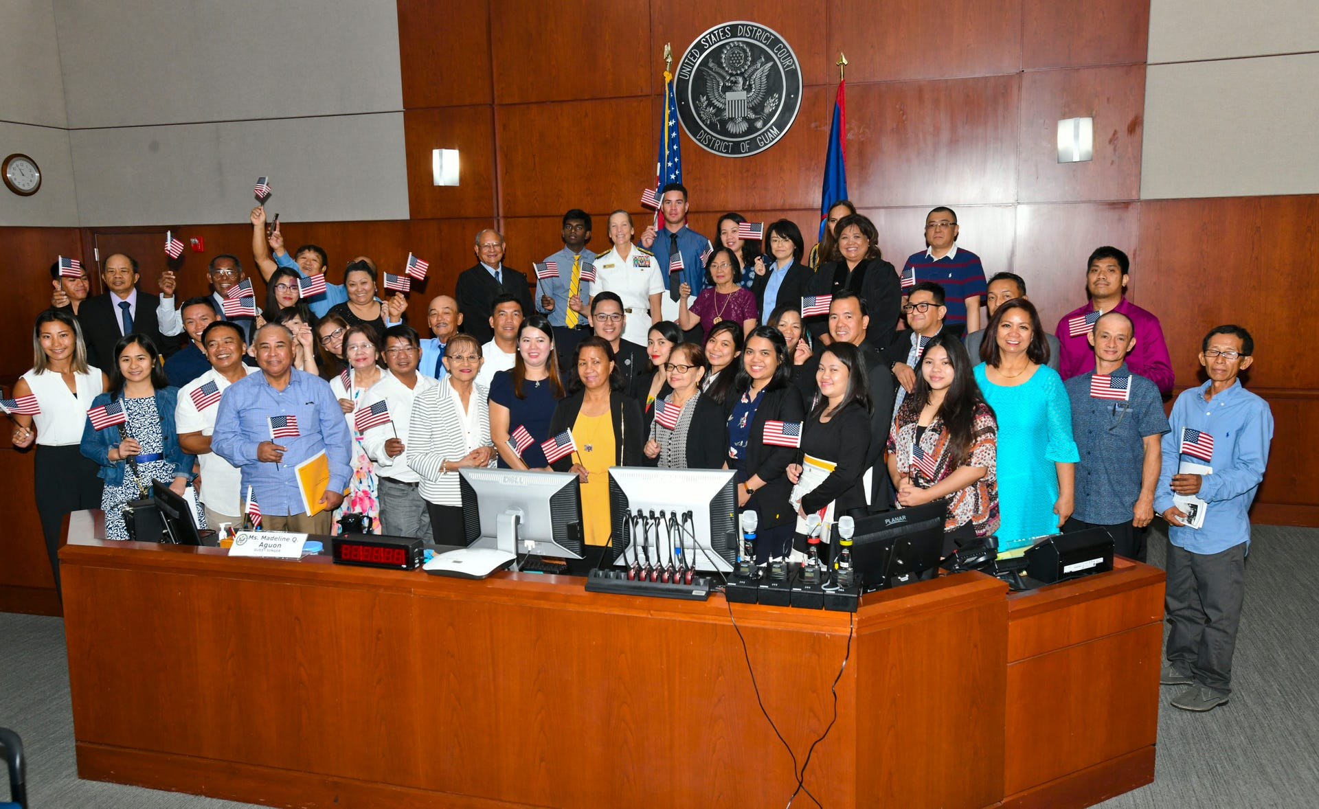 4th of July naturalization ceremony