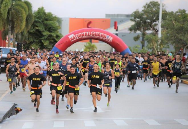 The Guam National Guard will celebrate its 38th anniversary with its Annual Taotaomona 5K Run/Walk July 6.