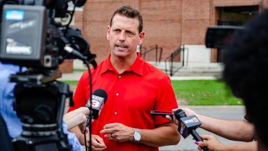 UL athletic director Bryan Maggard.