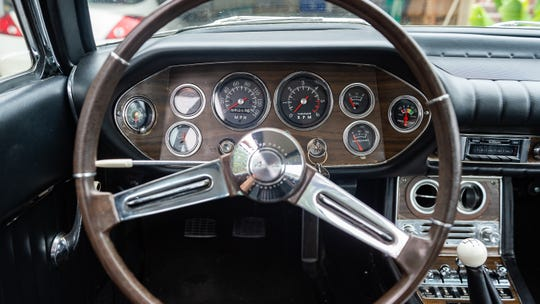 Winston Riehl shares the story of his 1964 Studebaker Avanti. Wednesday, July 3, 2019.