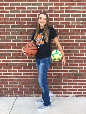 Amanda-Clearcreek senior Alyssa Evans is the 2019 Eagle-Gazette Female Athlete of the Year.
