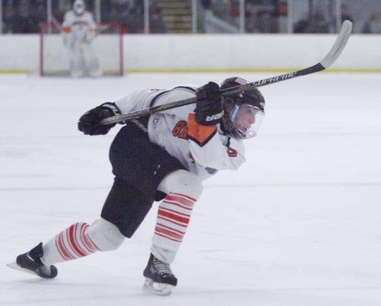 University of Michigan hockey recruit Jay Keranen played three seasons for Brighton High School.