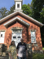 Linda and Dick Williams have owned and maintained the historic, one-room Hurd School in DeWitt Township for nearly 40 years. Now they are putting the property on the market.