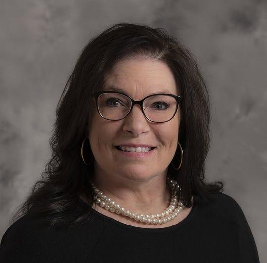 McLaren Greater Lansing Oncology Nurse Navigator Sheri Patterson, RN, MSN, MBA.