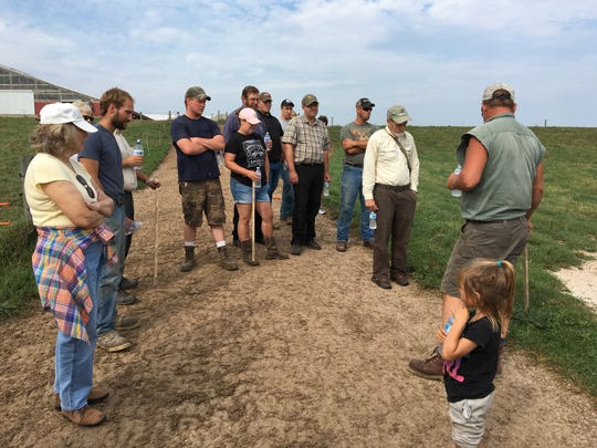 A pasture walk from 1 to 3:30 p.m. July 10 at Saxon Homestead Farm, 15621 S. Union Road, Cleveland, will focus on water quality and conservation.