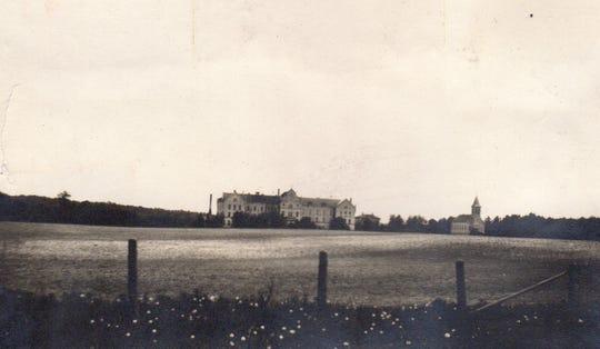Holy Family Convent, circa 1912.