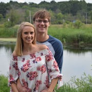 Erin Treichel and Brian Eliszewski of Mukwonago (pictured) were chosen from over 300 entries, and now Brookfield Conference Center will host the wedding of their dreams.