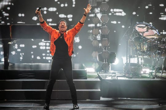 Lionel Richie plays Live at the Garden on Friday.
