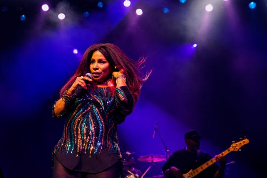 Chaka Khan performs at Summerfest's BMO Harris Pavilion on July 2, 2019.