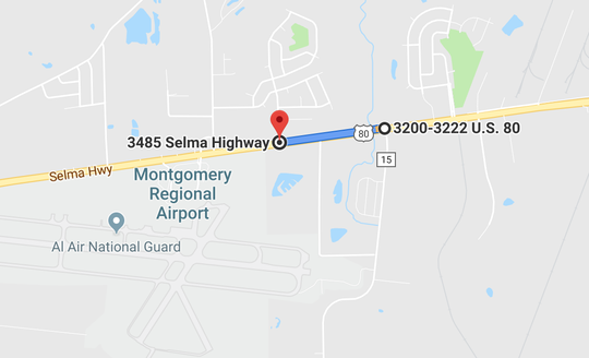 An adult man was killed in a single-vehicle wreck east of the Montgomery Regional Airport.