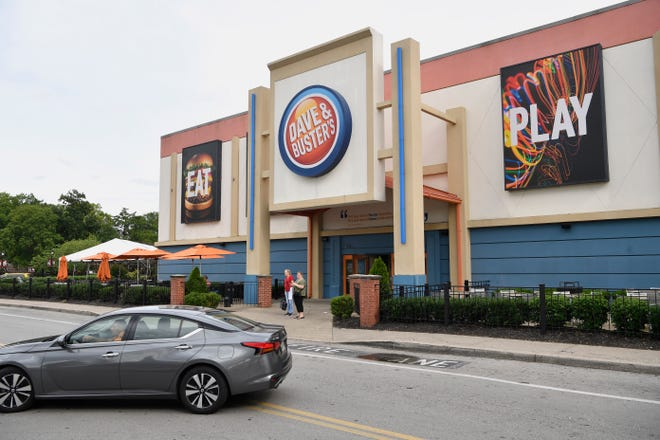 Dave & Buster's plans to permanently lay off 108 employees at its 540 Opry Mills Drive, Nashville location, effective Nov. 8, according to a notice filed with the state department of labor.