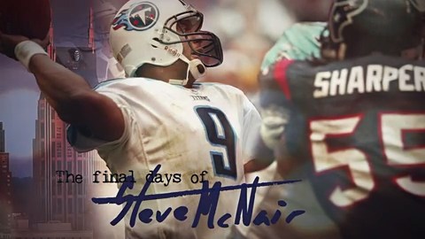 wholesale dealer a2e2b a99d4 Steve McNair's death: Titans great seemingly led double life
