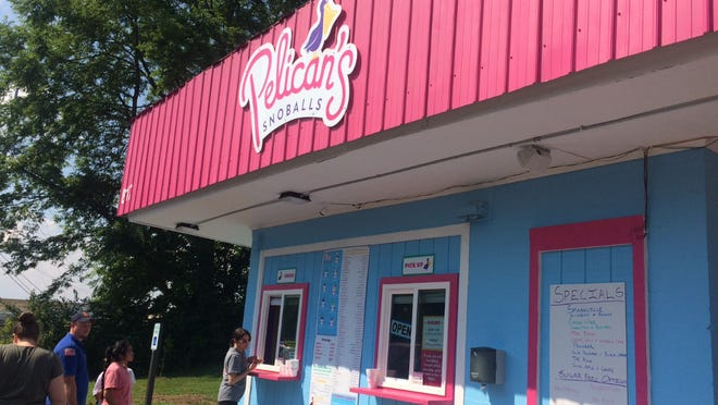 Pelican's SnoBalls opened at 817 S. Water Ave in Gallatin on May 11.