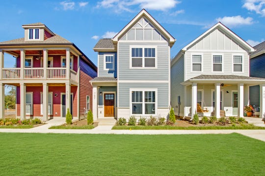 In the Village at Carter's Station, Parkside Builders offers single-family cottage homes and townhomes priced from the $190,000s. The neighborhood is in Columbia.