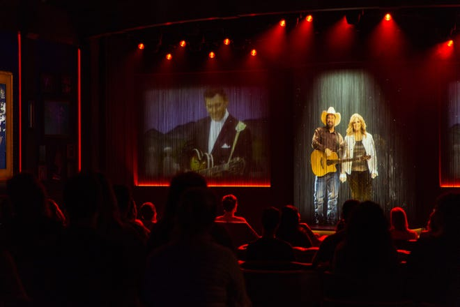 Garth Brooks and Trisha Yearwood host the Grand Ole Opry's new emotional video that will be shown to daytime tour groups.