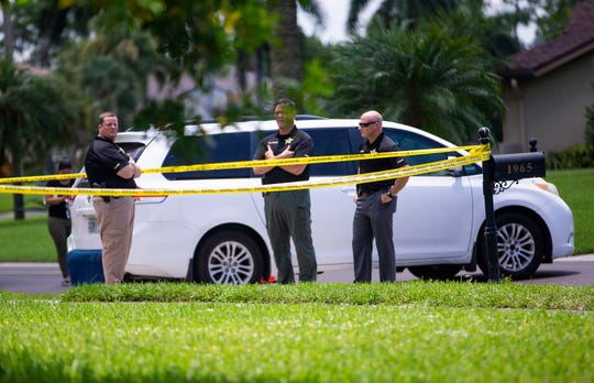 Collier County Sheriff's Office is conducting an investigation at the 1900 block of Imperial Golf Course Blvd., Wednesday, July 3, 2019 in North Naples.
